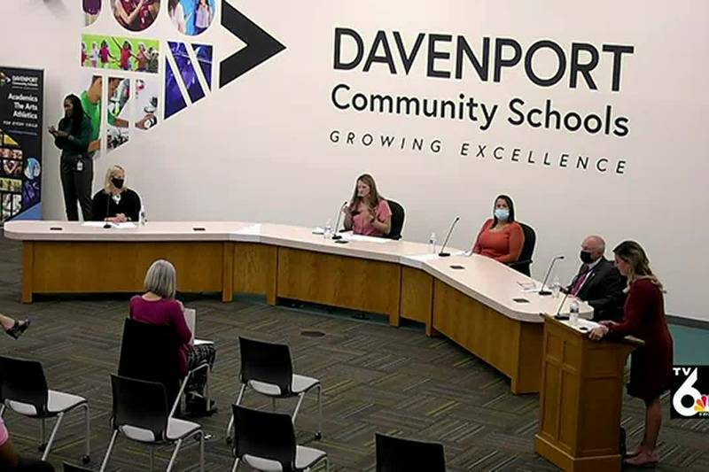 Candidates for the Davenport school board talk about a time they were wrong or had their minds...