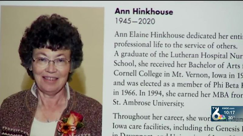 Ann Hinkhouse, who passed away in May, left the gift to the school where she received her MBA.