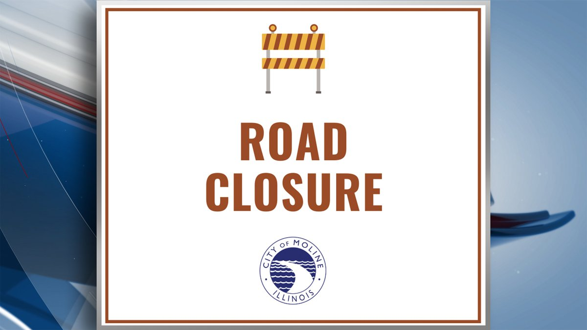 A portion of the Avenue of the Cities will be closed due to the installation of a new sanitary...