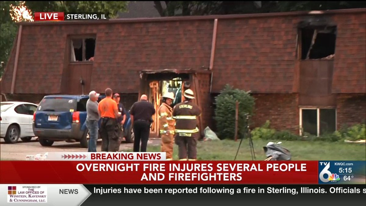 One adult and two children have died after a fire in Sterling, Illinois. The fire started...