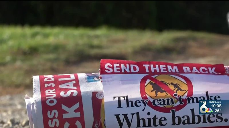 We have seen hate spread, with flyers promoting white supremacy placed inside magazines and...