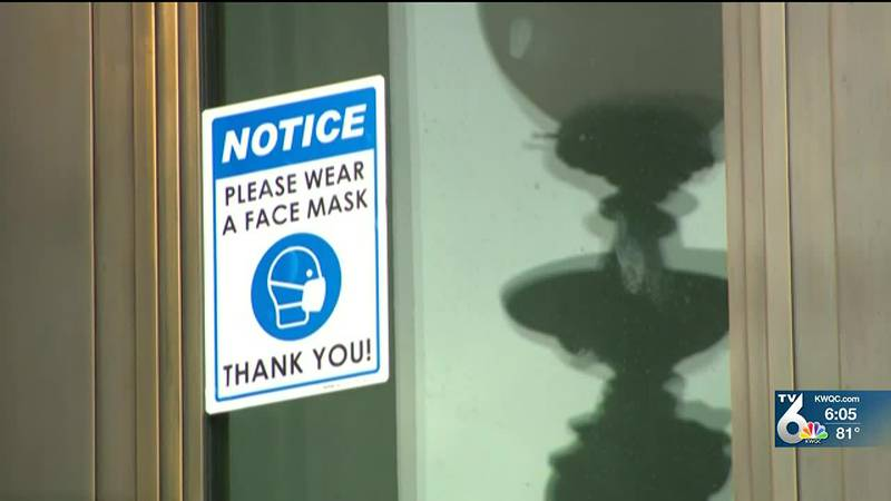 Indoor mask-use returns for some places in the Quad Cities