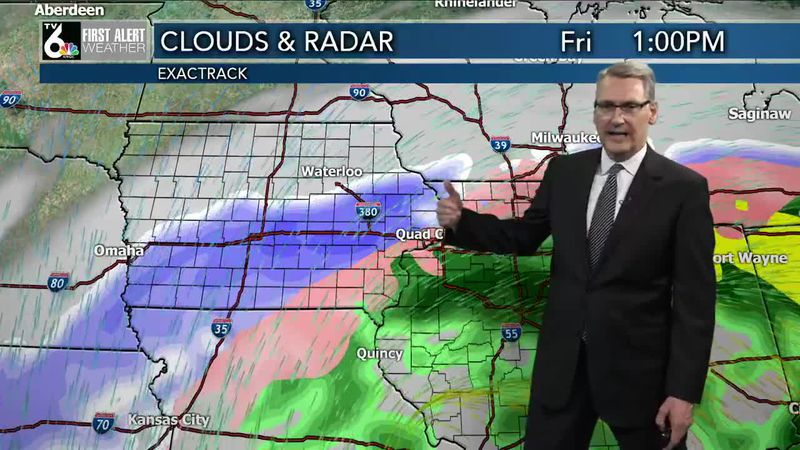 First Alert Forecast - More snow, ice, and even rain overnight!