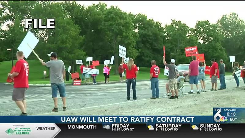 UAW ratification meeting