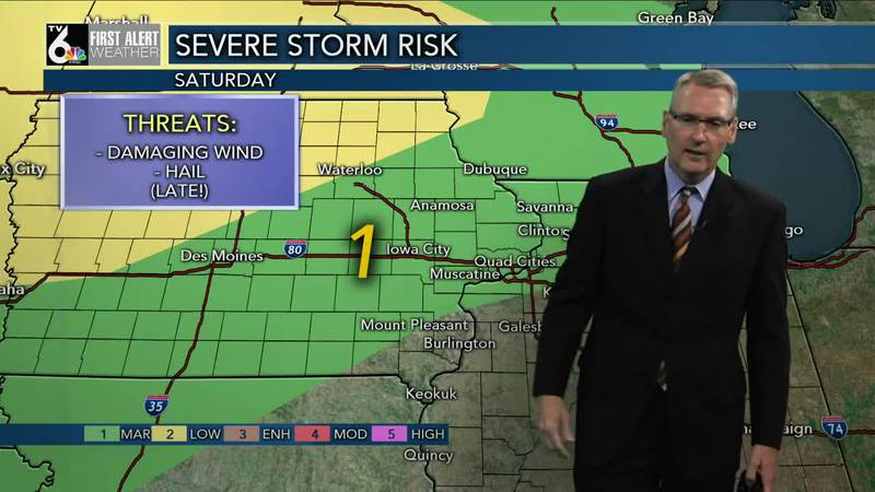 First Alert Forecast - More heat and humidity, and some rain, this weekend.