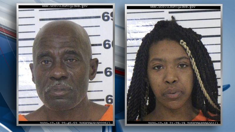 Kerry V. Clark, 60, and Precious N. Sims, 21 are charged with first-degree and possession of a...