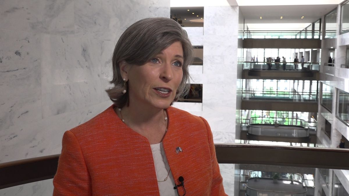 Sen. Ernst (R-IA) working to build support for Cradle Act. (Source: Gray DC)