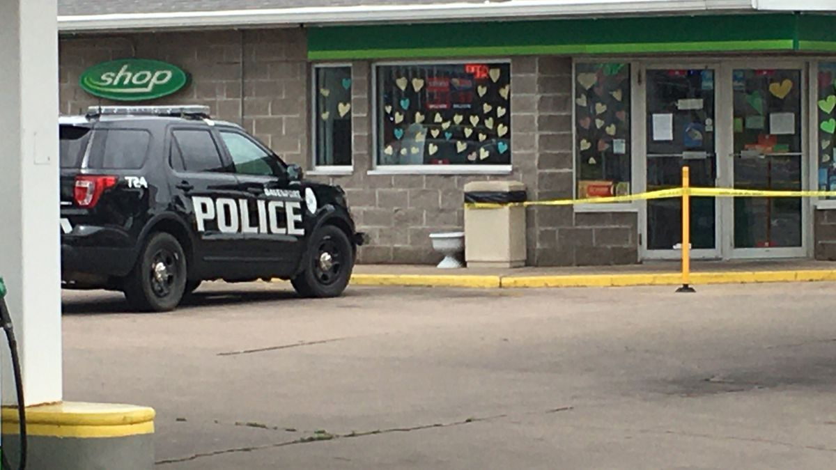 The Davenport Police Department is investigating a robbery Tuesday afternoon at Express Lane BP gas station, 1208 E. Locust St.