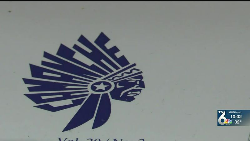 Camanche school board votes to remove Indian mascot at end of school year