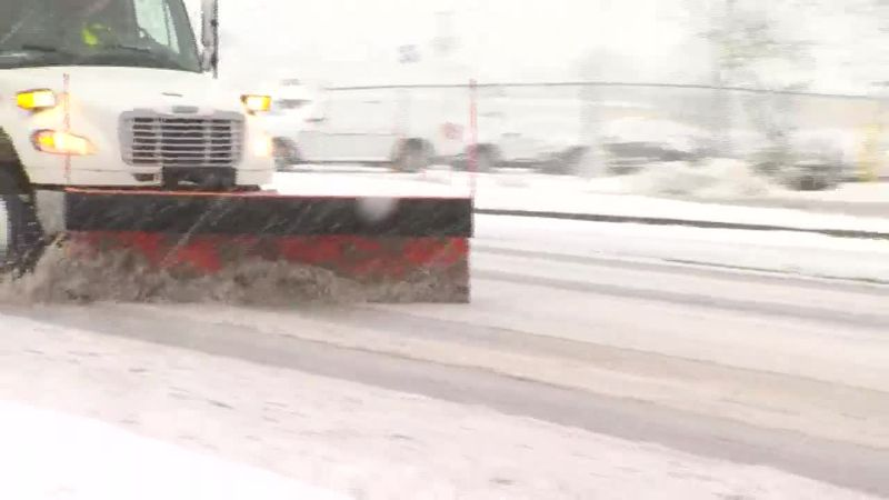 Plow crews pulled from roads in Newton Township, Illinois
