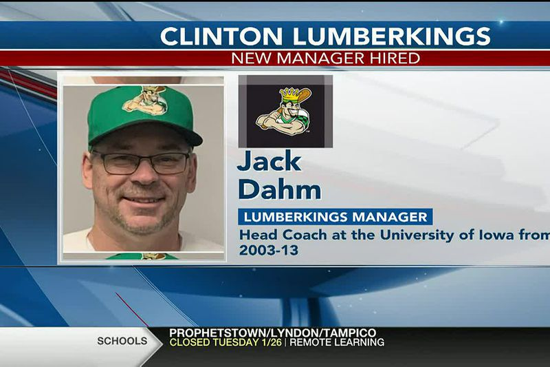 The Clinton LumberKings announced today that Jack Dahm will be the Field Manager leading the...
