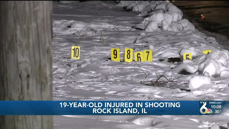 A 19-year-old suffered life-threatening injuries in an early morning shooting Thursday in Rock...