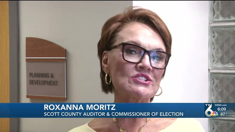 Scott County Auditor Roxanna Moritz said she is stepping-down earlier than anticipated, in...