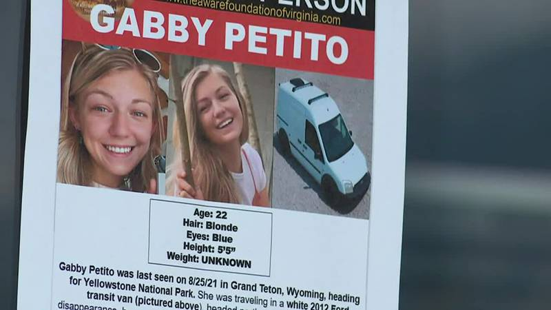 Petito, 22, was recently reported missing. She and her boyfriend left in July on a...