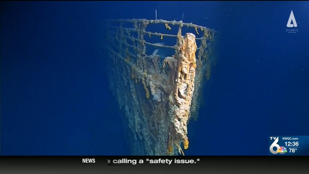 New images show just how much the Titanic wreckage has deteriorated in the past 14 years. (NBC)