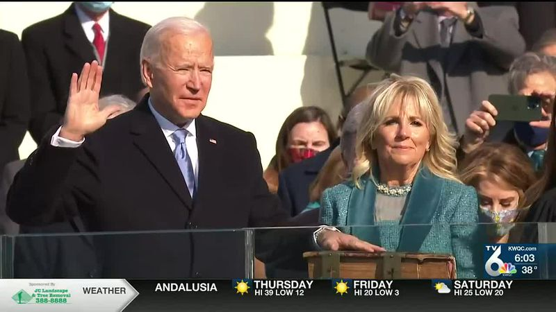 Quad Cities react to Biden inauguration