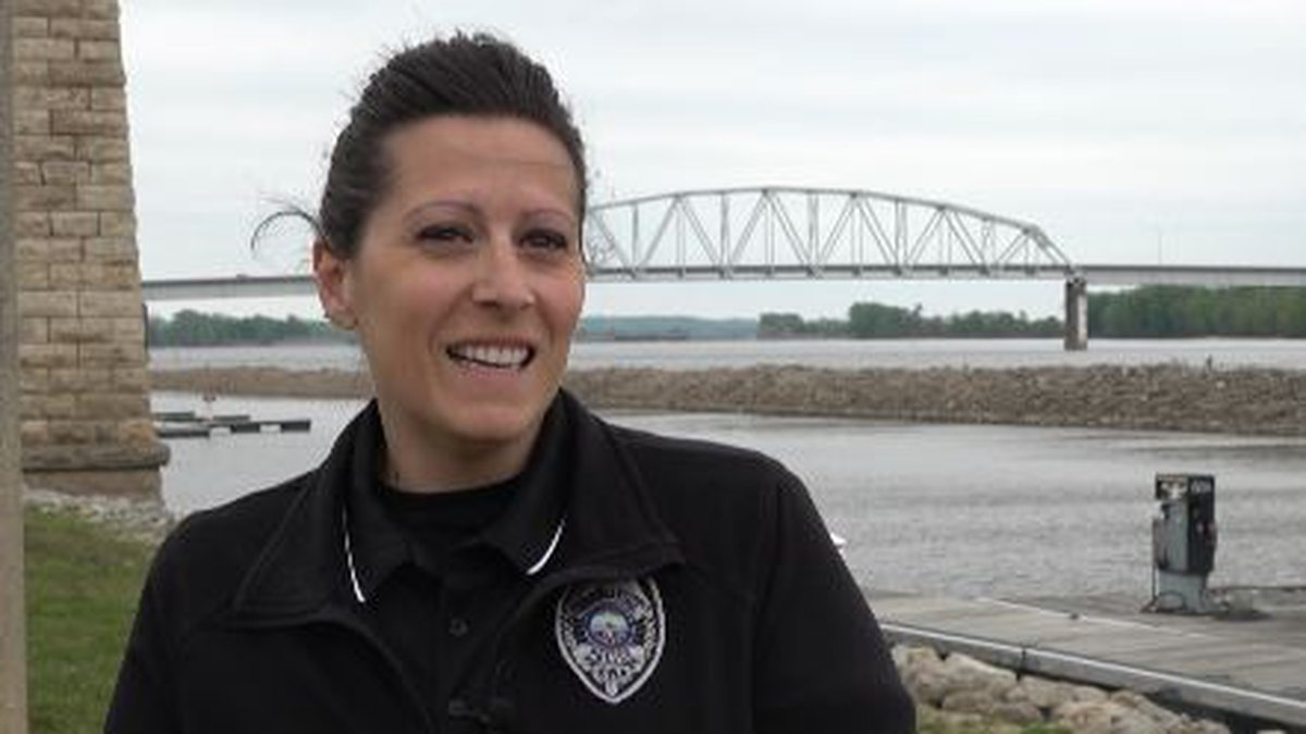 Muscatine Police Officer Jolisa Colman is one of only three officers on the department to ever...