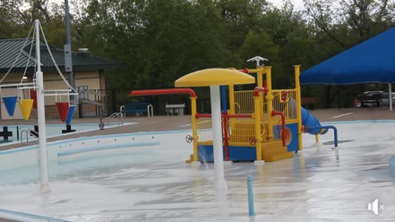 Aquatic Center in Weed Park.