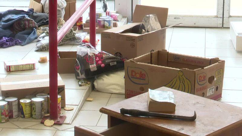 Galesburg pantry burglarized and trashed