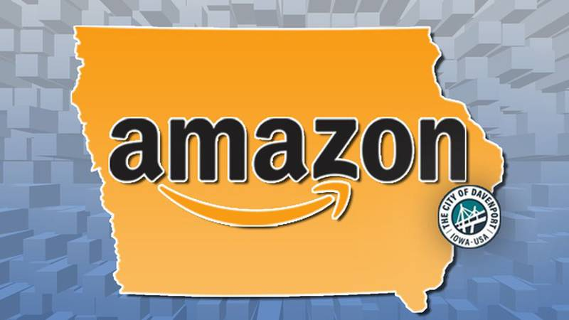 An Amazon fulfillment center is coming to Davenport and bringing 1,000 full-time jobs with it....