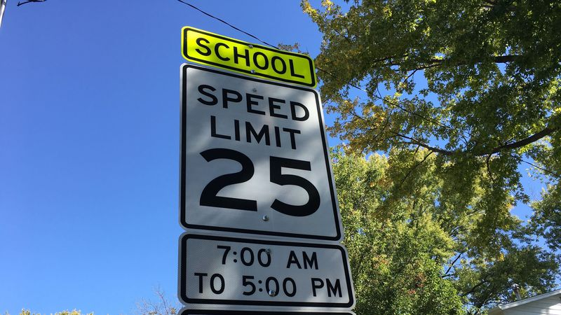 Davenport police remind drivers to obey school zone speed limits as students return to hybrid...