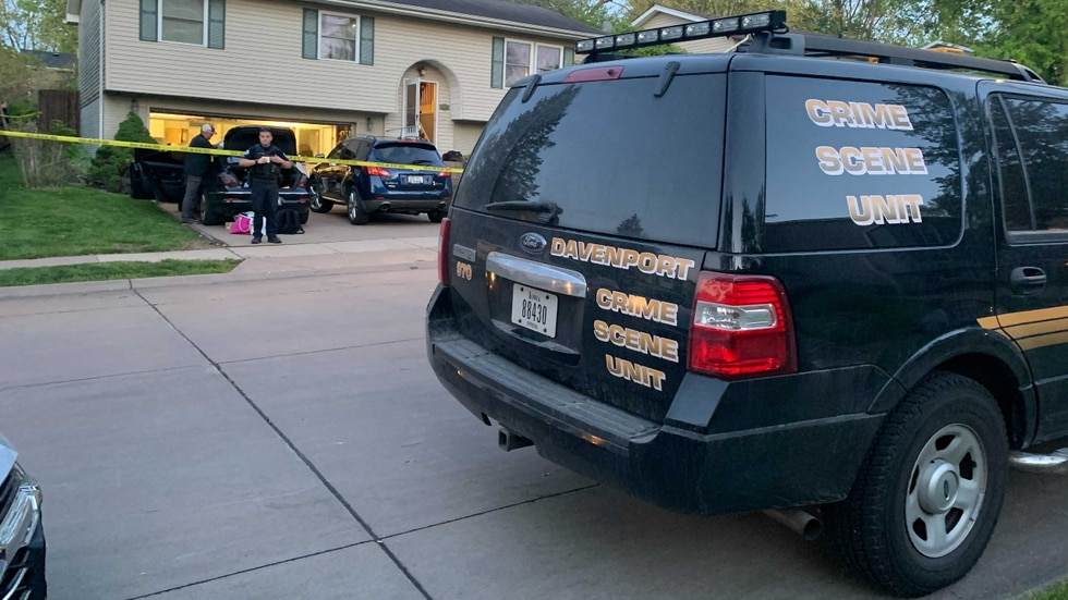 Davenport Police Dept. responded to a call on Calvin St. in Davenport Sunday afternoon.