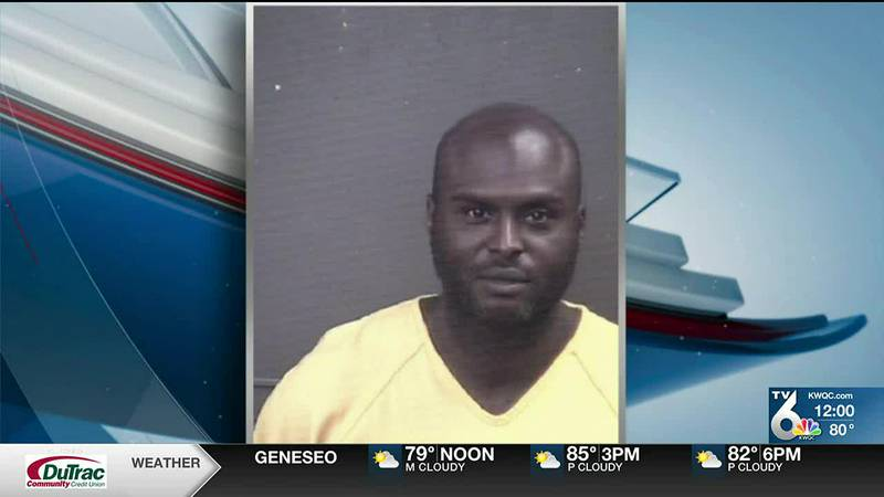 A Milan man is behind bars after court documents allege that he struck a woman on the head...