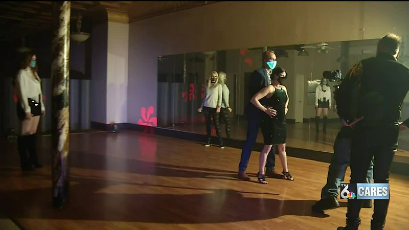 Shine On Quad Cities benefit with KWQC's Joey Donia as one of the contestants