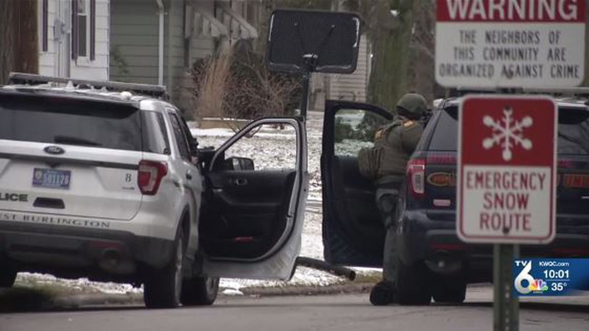 The West Burlington Fire Department has confirmed the suspect who barricaded himself inside his home for hours is dead. After nearly 12 hours of negotiating with a man at a home on East Pennington St., the suspect began firing at officers and a short while later, set his house on fire. (KWQC)