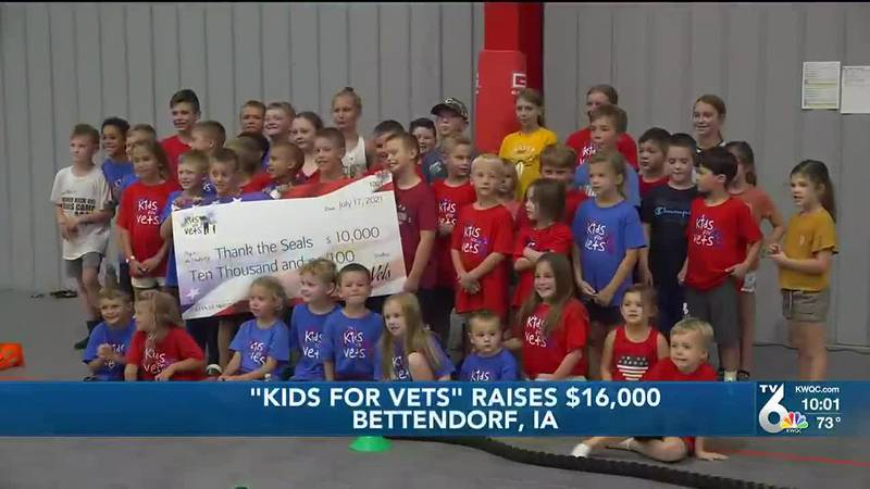 Over 40 families and 100 kids got involved in Kids for Vets, helping veterans through Thank the...