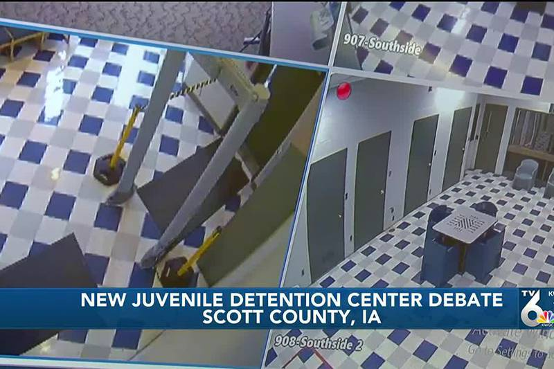 Scott County leaders disagree over capacity of new Juvenile Detention Center