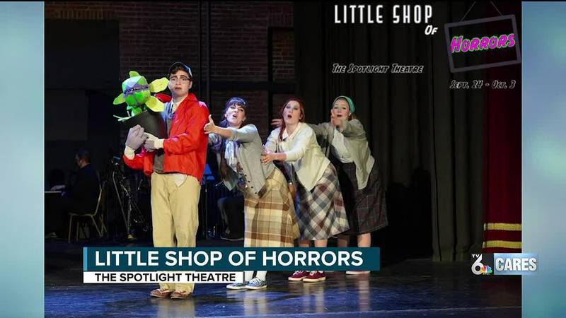 Little Shop of Horrors at Spotlight Theater, Moline.