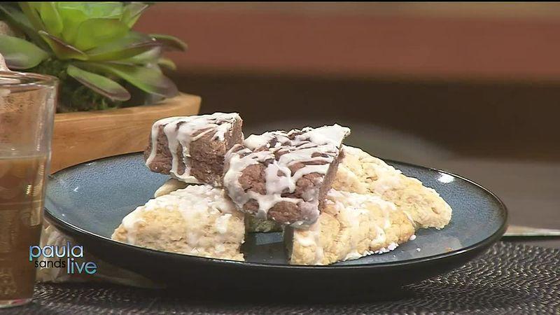 Chocolate & Vanilla Soft Scones