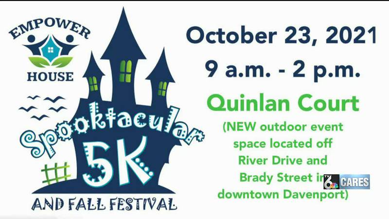 Spooktacular 5K and Fall Festival is Oct. 23 in Quinlan Court in Davenport. It is a benefit for...
