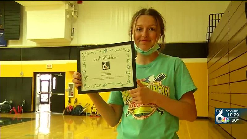 Riverdale softball star Payton McWilliams is the TV6 Spotlight Athlete of the Week