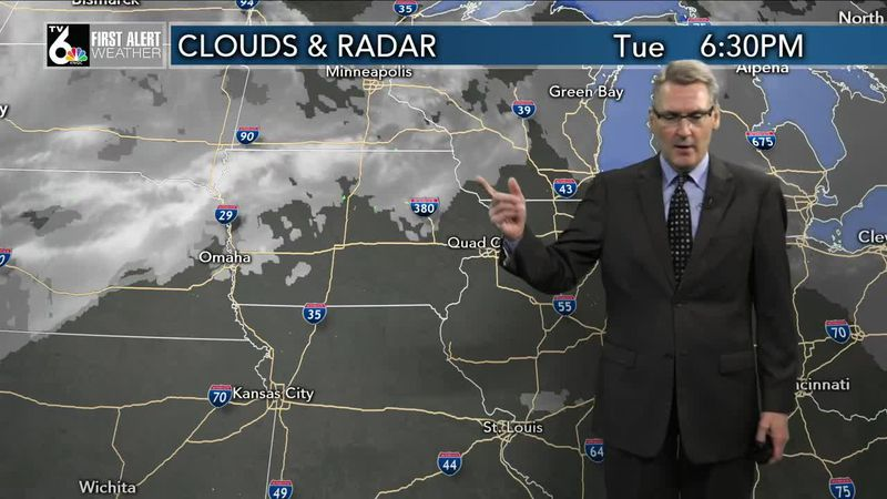 First Alert Forecast - Some fog overnight with more melting and mild temps Wednesday