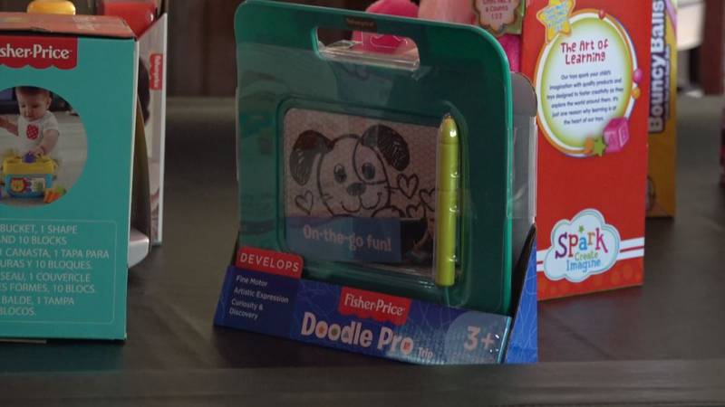 Scott for Tots Toy drive hosts kickoff