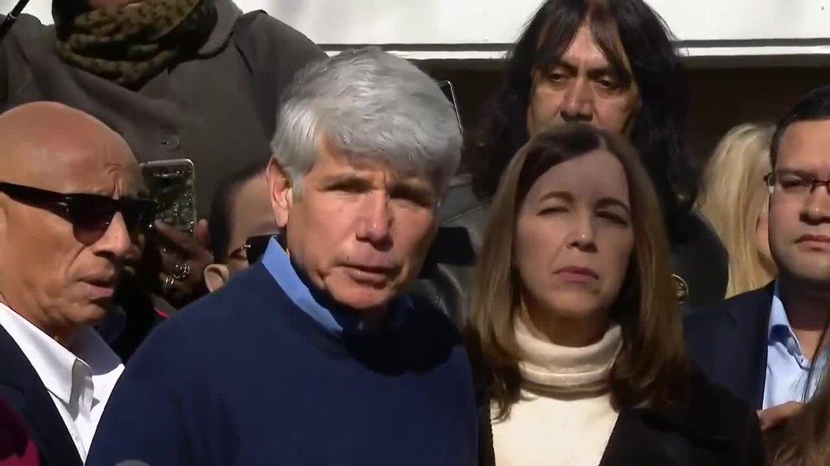 RAW VIDEO: Former Illinois Gov. Rod Blagojevich news conference
