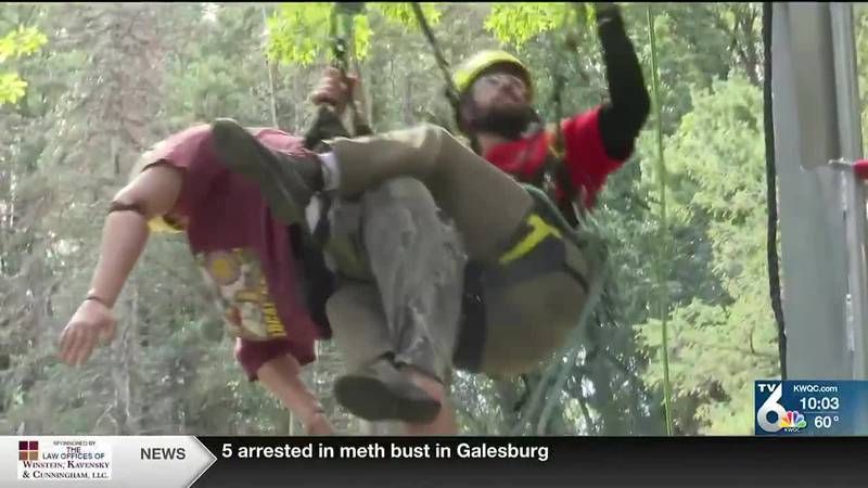Iowa Arborist Association hosts tree climbing competition for first time since 2019