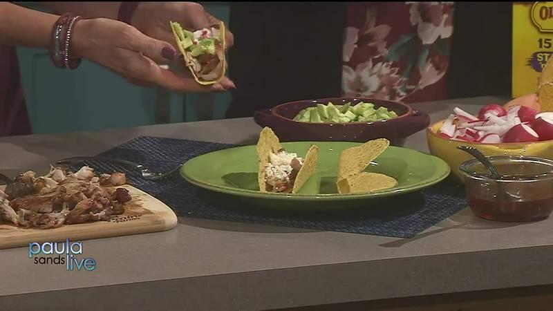 Easy Instapot recipe: Honey Garlic Chicken Tacos