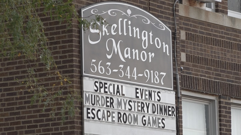 Skellington Manor reopens Friday.