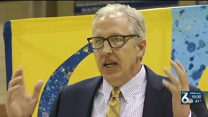 Tom Jessee has been promoted to head coach of the Augustana basketball team