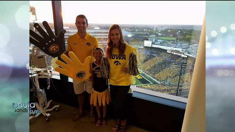 From Cancer to Kinnick: Love Finds A Wave