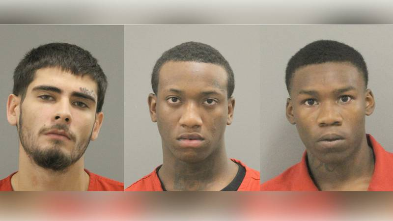 Christopher Stucke, 21, Maurice Citchen, 19, and Jade Carter, 18, are charged with attempted...