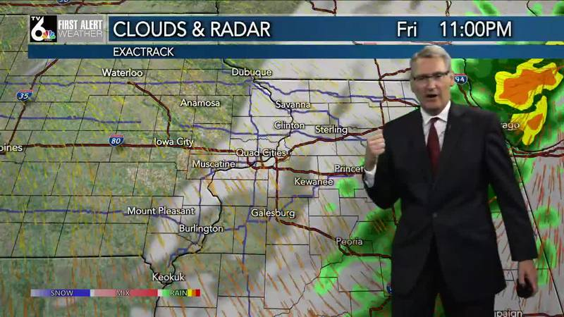 First Alert Forecast - Drying out overnight and a pleasant weekend, ahead!
