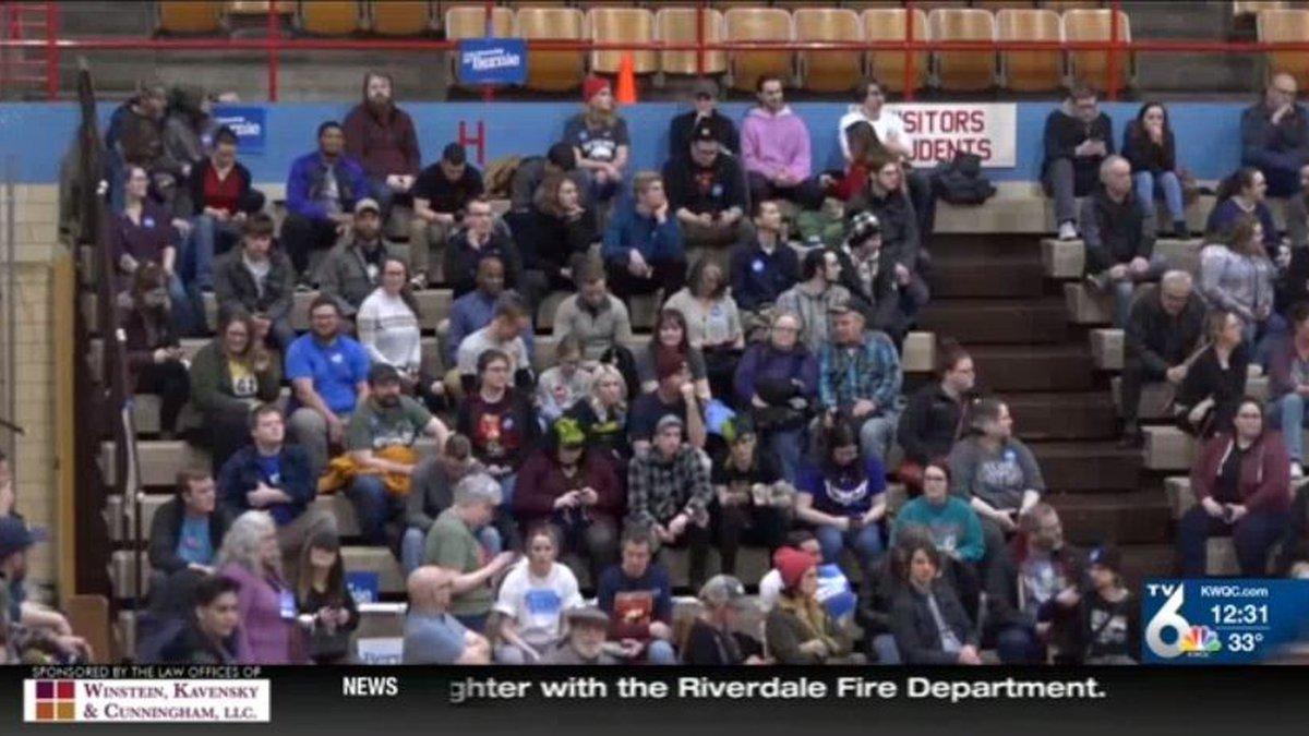 Caucus-goers and candidates waking up Tuesday morning were still in the dark about who came out...