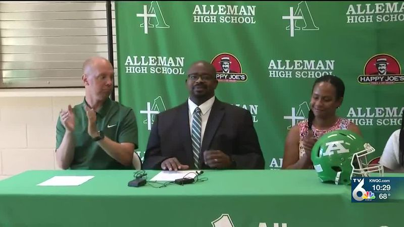 Fritz Dieudonne is the new head football coach at Alleman