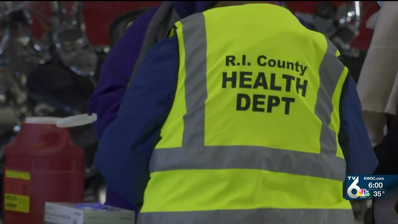 Rock Island County Health Dept. holds first mass vaccination clinic