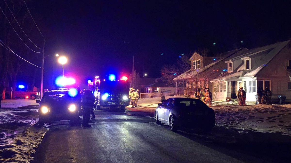The East Moline Fire Department are on the scene of a house fire in the 200 block of 29th Avenue.