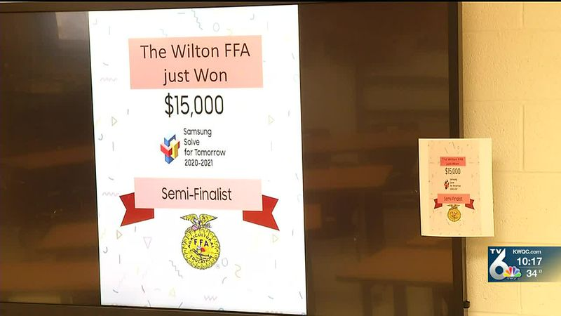 A Wilton Junior-Senior High School student project has been named as one of 75 nationwide...